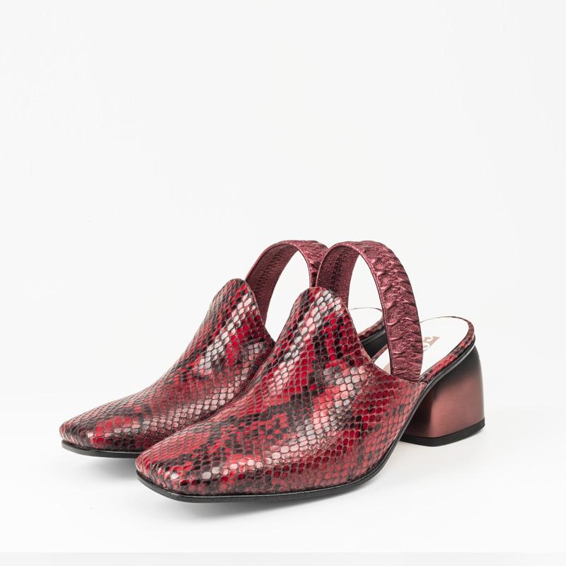 Sandalia Serpiente Roja 34