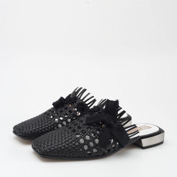 BLACK WOVEN/BLACK SOFIA
